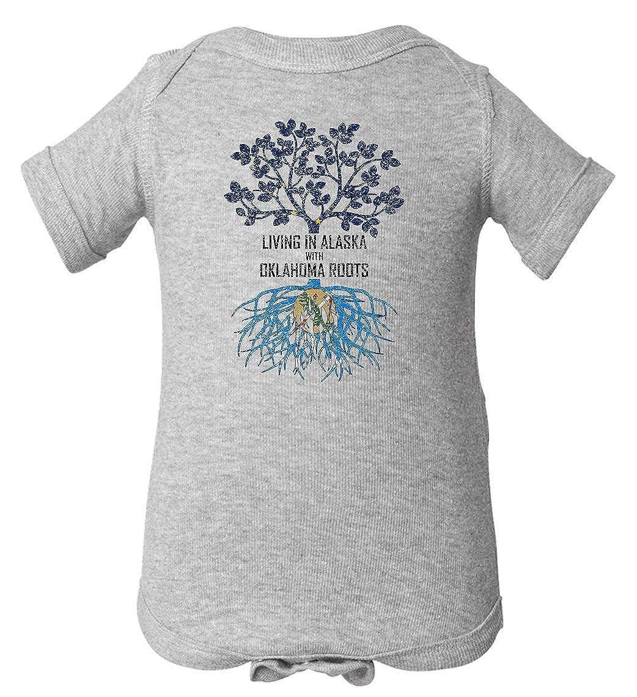Tenacitee Babys Living in Alaska Oklahoma Roots Shirt