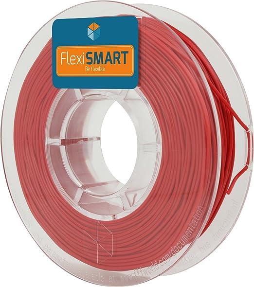 54 opinioni per 250 g. Red FlexiSMART 1.75 mm Filamento flessibile TPE per la Stampa 3D