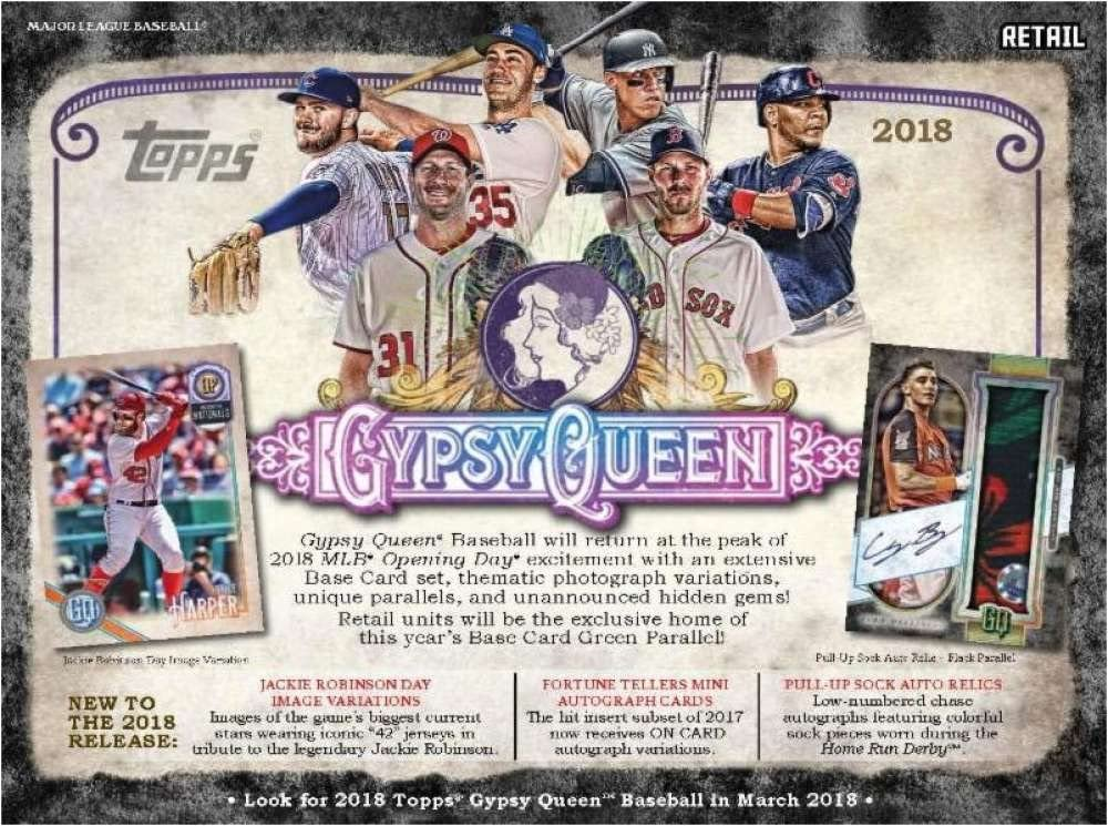 2018 TOPPS GYPSY QUEEN  BASEBALL RETAIL BLASTER  BOX  SEALED