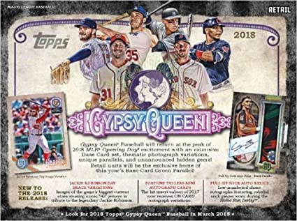 Amazoncom 2018 Topps Gypsy Queen Baseball Cards Hobby Box 24
