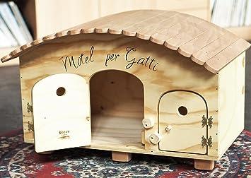 Blitzen novedades, Caping Motel WP Outdoor, caseta para perro para gatos, 3/