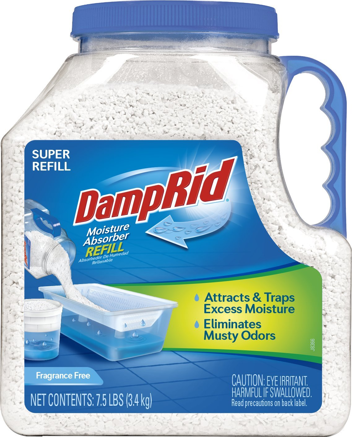 Damprid Fg37 Moisture Absorber Refill 7 5 Lb Fragrance