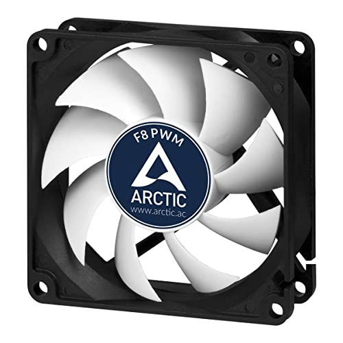 ARCTIC F8 PWM Rev.2 - Standard Low Noise PWM Controlled Case Fan