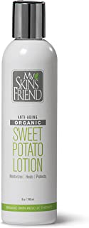 product image for Hand Crafted Organic Body Lotion for Women and Men Made from REAL Organic Sweet Potatoes - CHEMICAL-FREE. Naturally rich in Vitamin A and beta carotene.