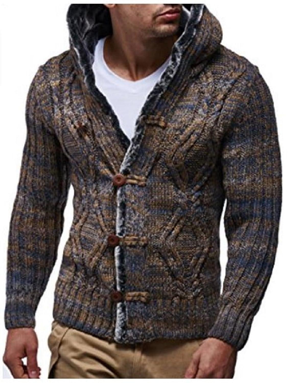 Gilet wool mesh jack camel