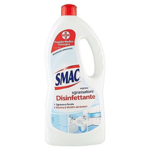 2 opinioni per Smac- Detergente Disinfettante Pavimenti, Ml.1000