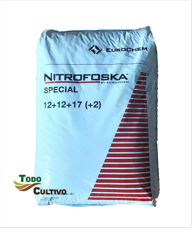 Nitrofoska Special. Abono granulado Especial viña y Huerta 12-12 ...