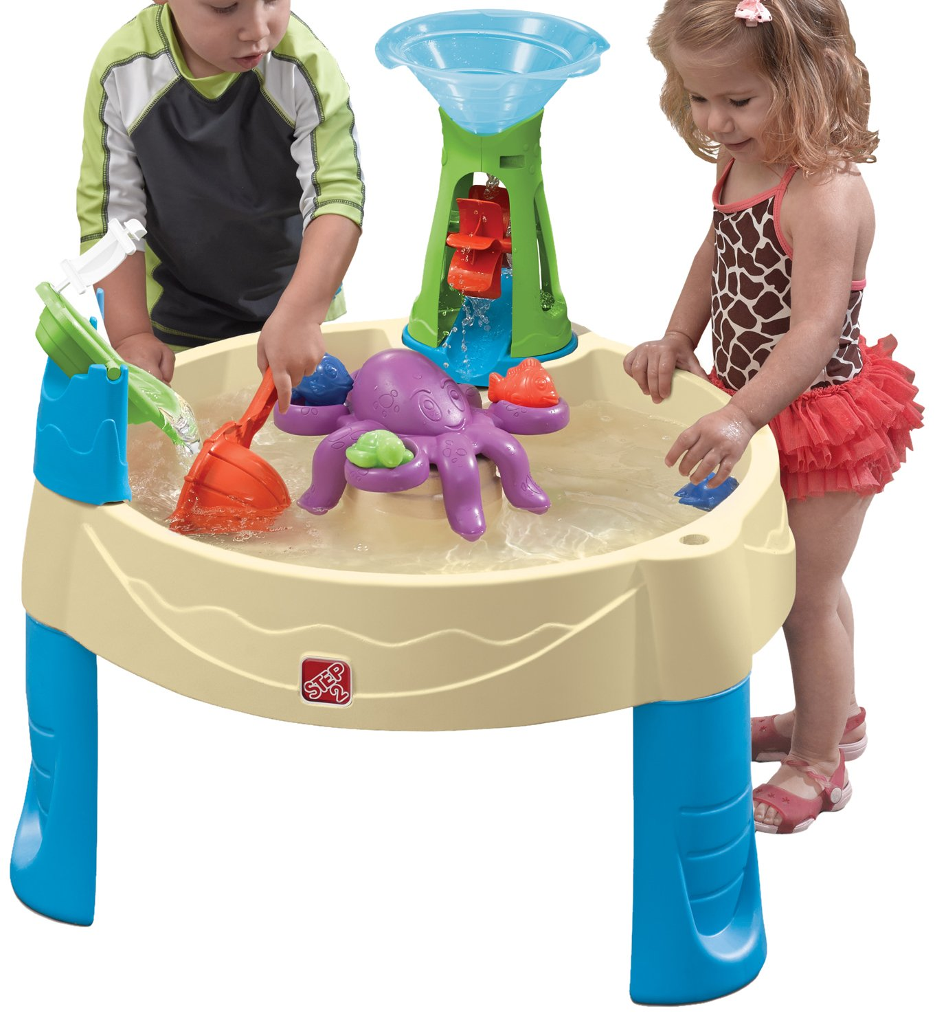 Amazon Step2 Wild Whirlpool Water Table Toys & Games