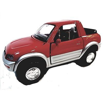 Kinsmart Red Toyota Rav4 Concept 1/32 Scale Diecast SUV: Toys & Games