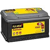 Fulmen - Batterie voiture FB802 12V 80Ah 700A - Batterie(s) - 580406074 ; F