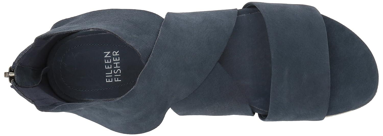 Eileen Fisher Women's Sport-Nu Flat Sandal B01M4NHJAC 9.5 B(M) US Navy