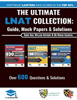 The Ultimate Lnat Guide  Practice Questions Fully Worked  The Ultimate Lnat Collection  Books In One  Practice Questions   Solutions