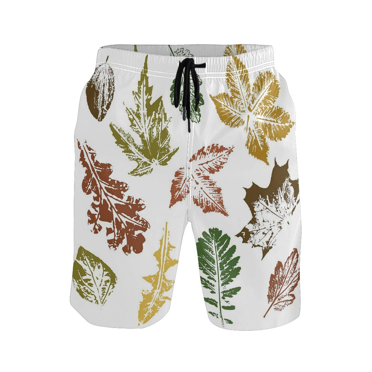 KVMV Aviation Theme Keep Calm and Trave Message with Plane I Quick Dry Beach Shorts