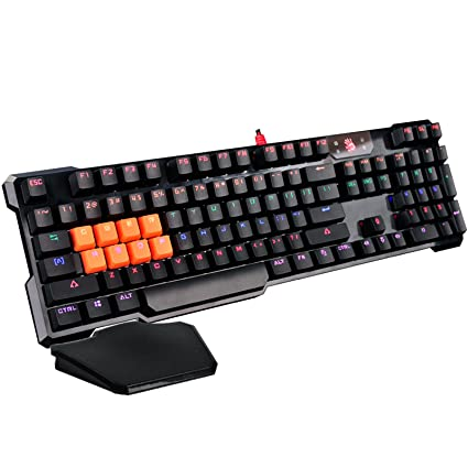 3bd6a0fcec7 Amazon.com: Bloody B720 Light Strike LK Optical Mechanical Gaming Keyboard  - Neon LED Backlit - LK Black Switches: Computers & Accessories