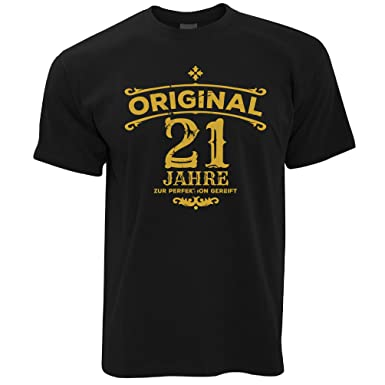 Tim And Ted Birthday Mens T Shirt Original 21 Years Aged To