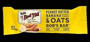 Bob's Red Mill Peanut Butter Banana and Oats Bob's Bar (Case of 12)