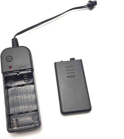 BATTERIA AA x 3 Supporto con filo di connessione e sull/'interruttore