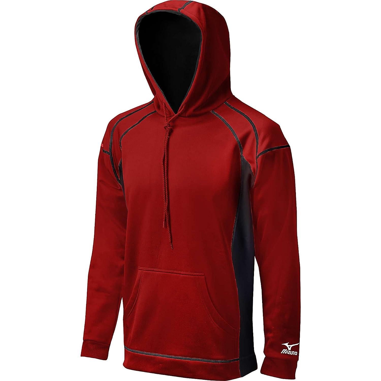 Mizuno G2 Technical Fleece Top Red//Black X-Small 350362.1090.03.XS