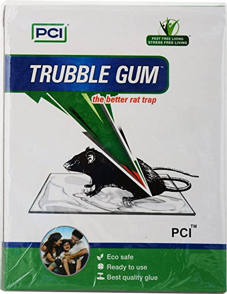 PCI Cardboard Troublegum Mouse Trap (White, Pack of 10)