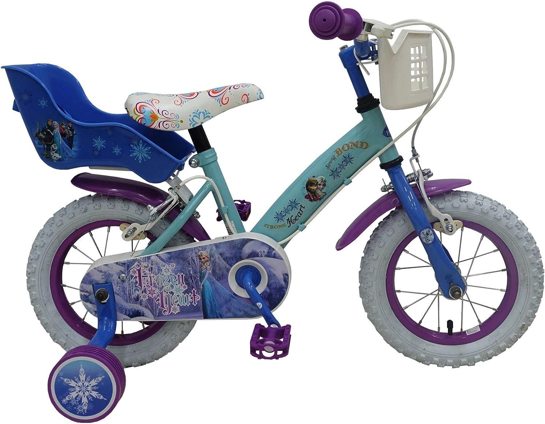 Bicicleta bicicleta niña 12 pulgadas Disney Frozen con freno ...