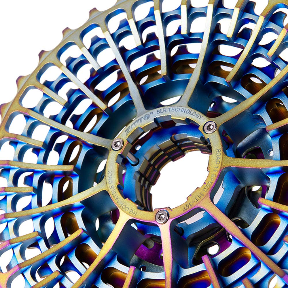 RONSHIN Sports ZTTO 11 Speed 28T 32T 34T 36T Road Bike Cassette Ultralight Bicycle Freewheel Colourful Bicycle Flywheel