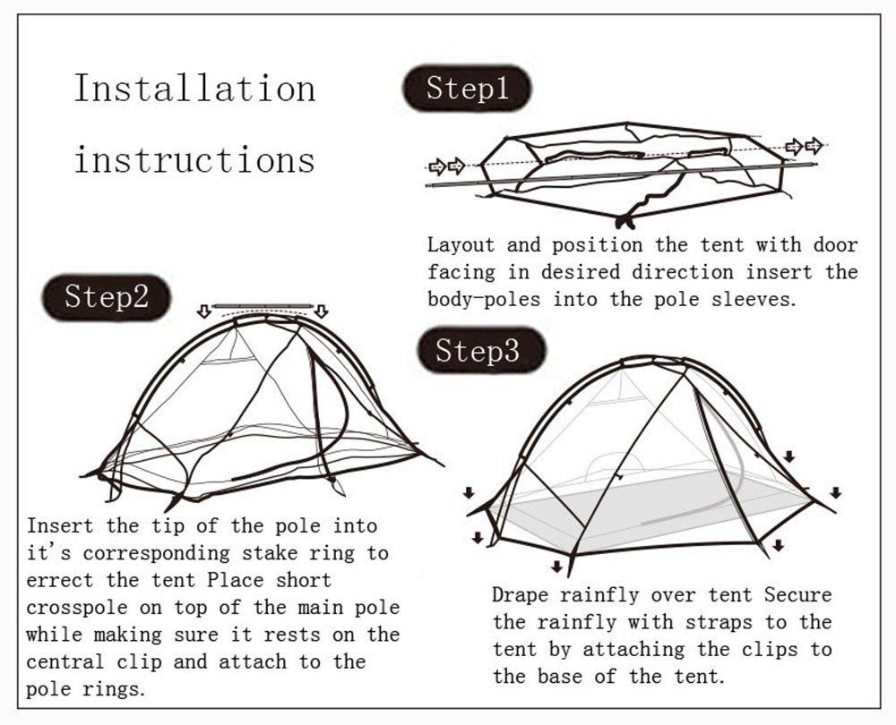 Amazon.com  Naturehike Taga 1/2 Persons Ultralight 3 Season Tent  Sports u0026 Outdoors  sc 1 st  Amazon.com & Amazon.com : Naturehike Taga 1/2 Persons Ultralight 3 Season Tent ...
