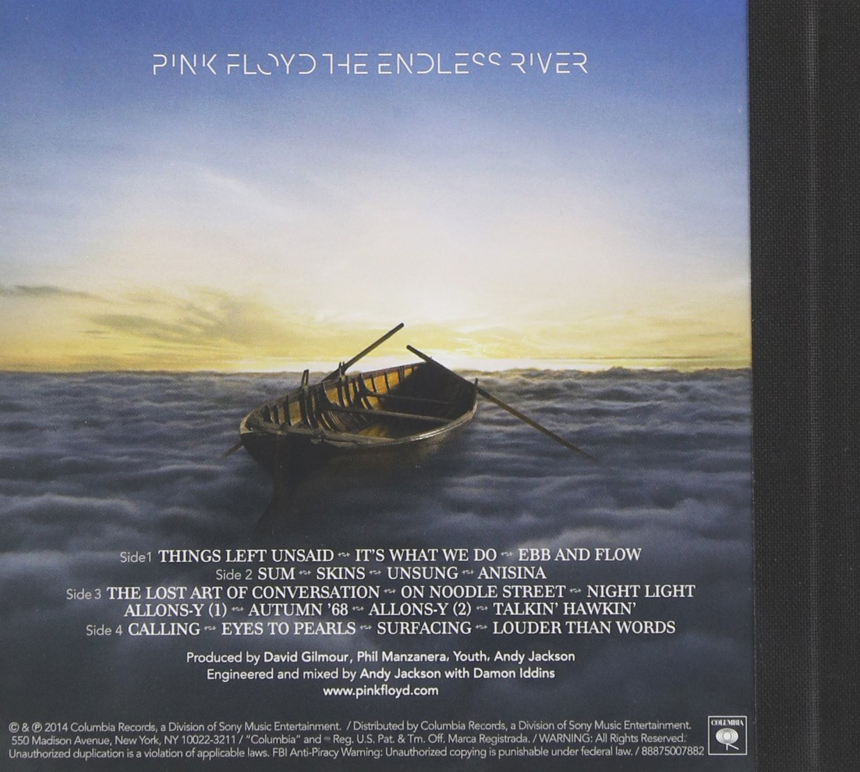Pink Floyd The Endless River Amazon Music
