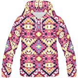 InterestPrint Custom Stylish Teenagers Pullover Hoodies Sweatshirt