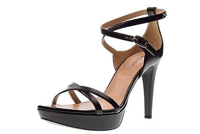 Hauts À Giardini Talons Femme Sandales Nero Chaussures P806040de 6qYRB