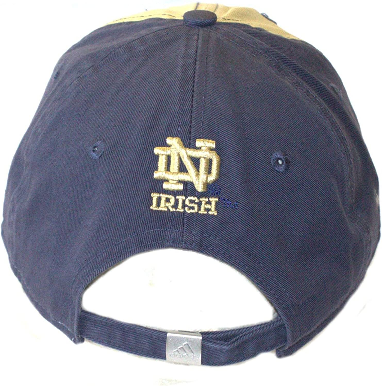 NCAA Officially Licensed Notre Dame Womens 2 Tone Slouch Fit Hat Cap Lid