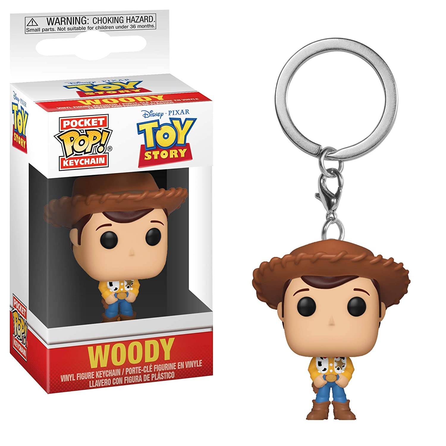Funko Pop Keychain: Toy Story - Woody