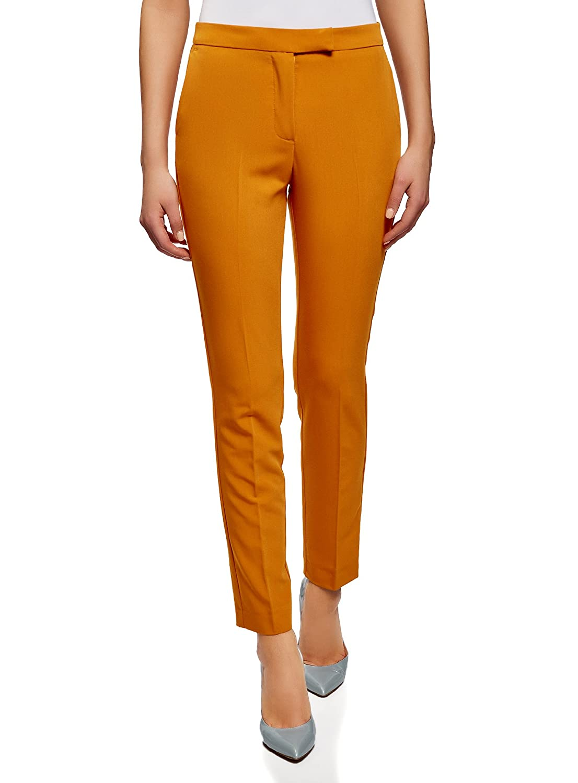 oodji Collection Womens Classic Slim-Fit Trousers RIFICZECH s.r.o. 21700201B