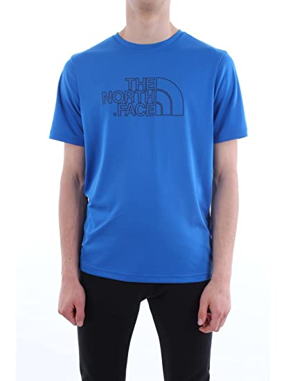 3ea7bc3e18 THE NORTH FACE T93BUA-M-EXTENT-II-TECH-TEE T Shirt Homme WXN-Blue ...