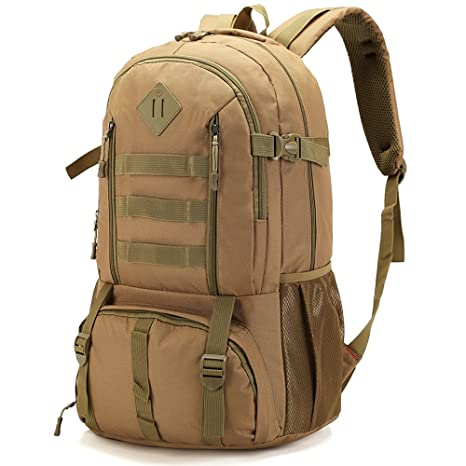 e8e84020c1 Large Waterproof 50L Military Tactical Backpack Army Assault Pack Molle Bug  Out Bag 3 Day Rucksack
