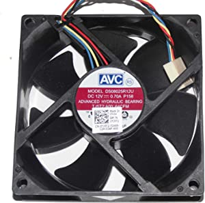 AVC 8025 DS08025R12U P158 12V 0.7A 4WireCPU Cooler Fan,Cooling Fan