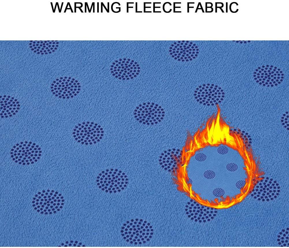 Self-Warming Fleece Dog Mats Dog Pet Bed Mattress for Sleeping Machine Washable AMOFY Dog Pet Bed Mats for Crate Anti-Slip Bottom