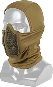 OneTigris Balaclava Mesh Mask Ninja Style with Full Face Protection