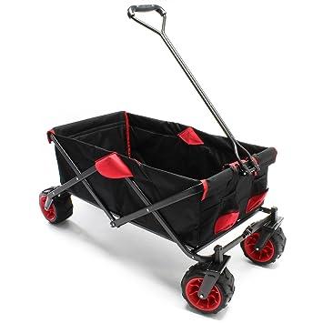 Carrito plegable Vagoneta jardín Carrito playa Carro manual Trolley Ayuda transporte manual Outdoor: Amazon.es: Bricolaje y herramientas