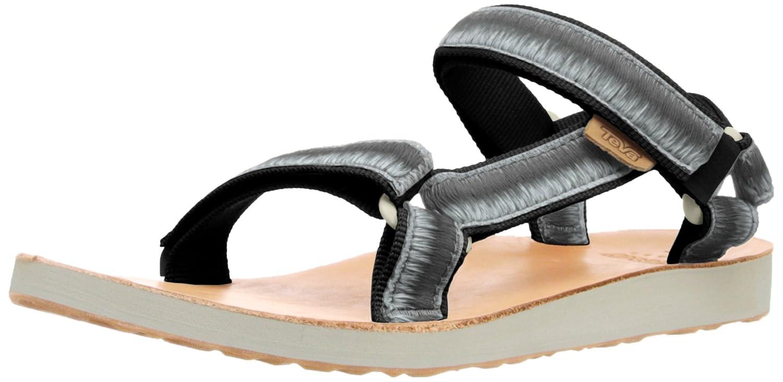 Black sandals ebay uk - Image Is Loading 5 Uk Black Black Blk Teva Women S W