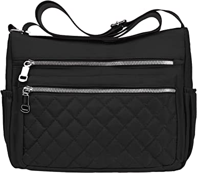 New Quality Women Waterproof Nylon Causal Shoulder Cross body Messenger Handbag