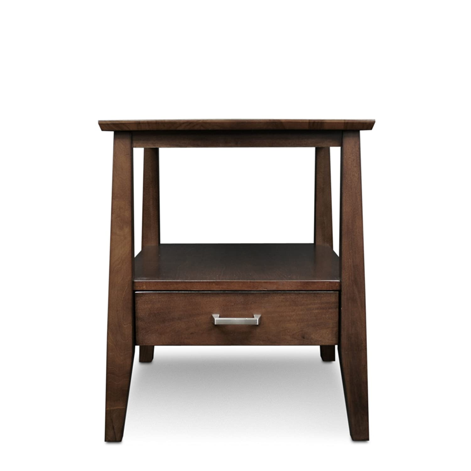 Leick Delton Storage End Table with Drawer