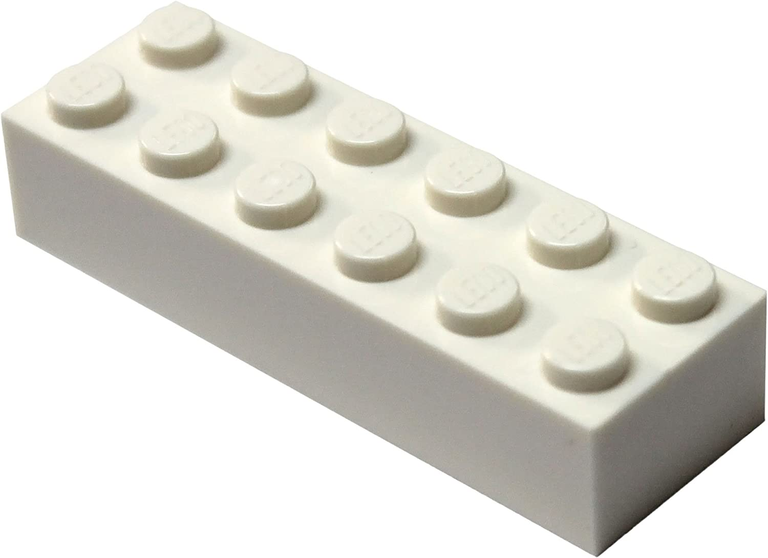 Lego WHITE 2x6 PLATE Lot of 8 Plates