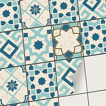 Stickers Carrelage Salle De Bain Et Cuisine I Carrelage Autocollant