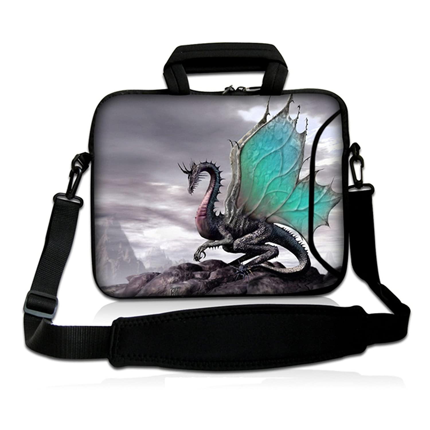 """ToLuLu®Pterosaur 9.7"""" 10"""" 10.2"""" inch Laptop Netbook Tablet Shoulder Case Carrying Sleeve bag For Apple iPad/Asus EeePC/Acer Aspire one/Dell inspiron mini/Samsung N145/Lenovo S205 S10/HP Touchpad Mini 210"""