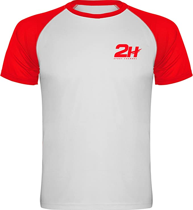 Camiseta técnica de pádel 2H Red Fury, S: Amazon.es: Deportes y ...