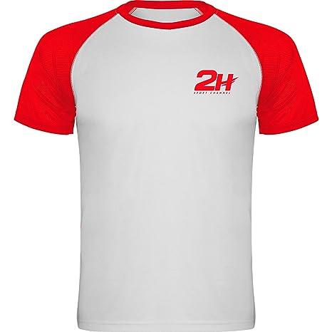Camiseta técnica de pádel 2H Red Fury, S