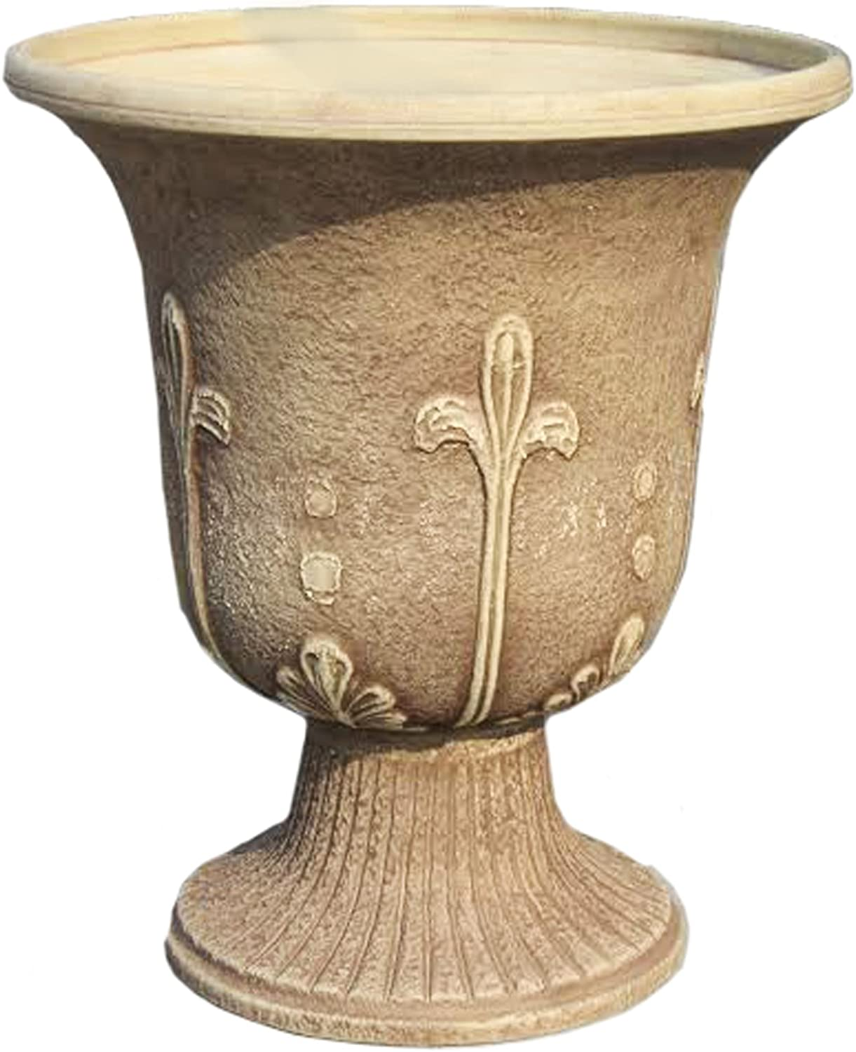 Exaco Trading Co. FM-0071 Sandstone Modena Urn Washed Finish