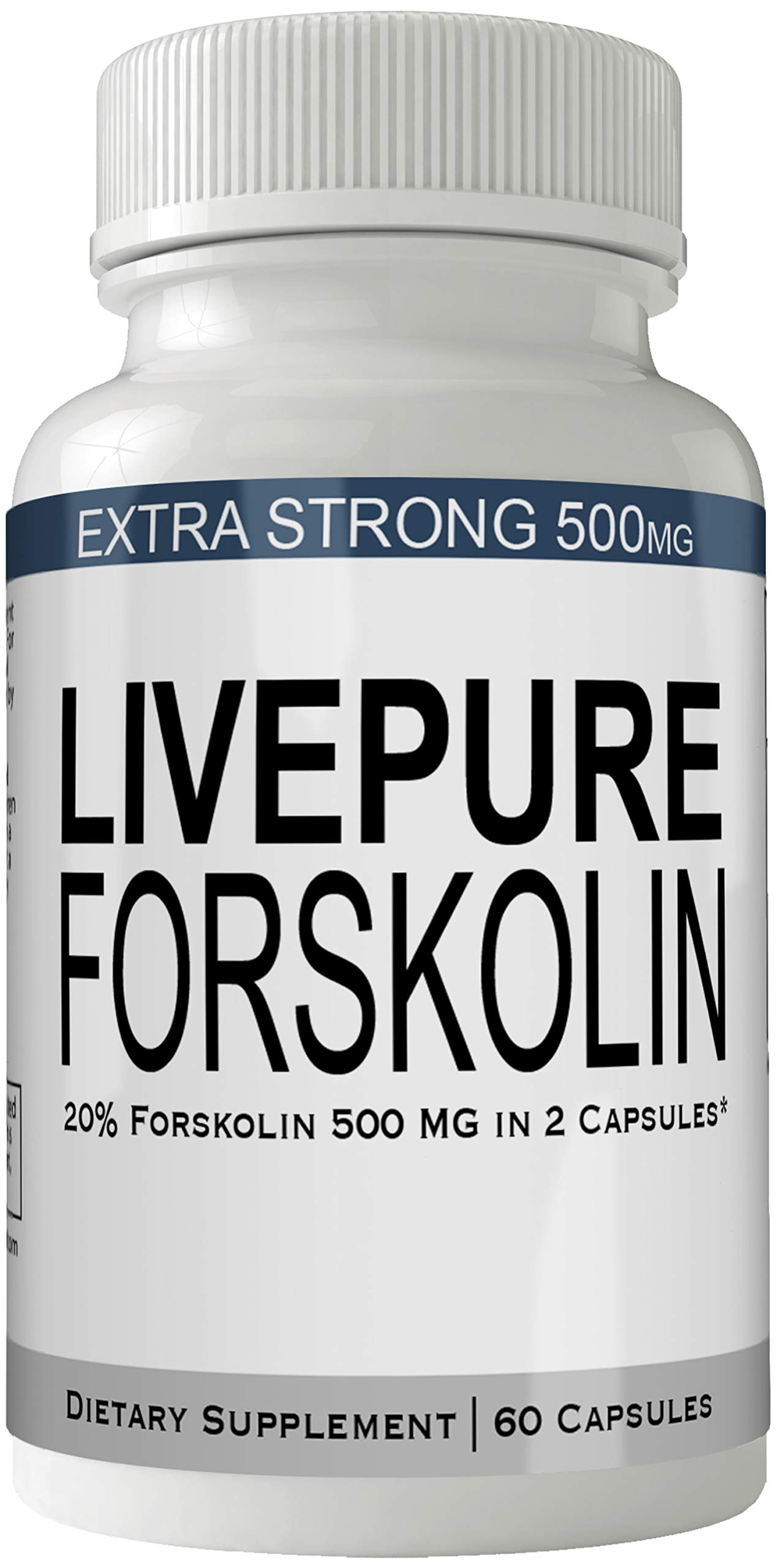 Live Pure Forskolin Weight Loss Supplement Livepure Pills with Ultra Formula with 250mg High Quality Natural Forskolii Extract Appetite Suppressant Tablets Boost Metabolism