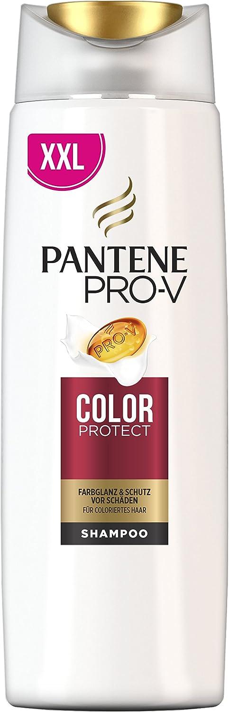 Champú protector para cabello teñido de Pantene Pro-V Color. Pack de 3 unidades de 500 ml