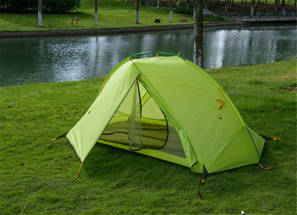 Kaxima Einpoliger Outdoor-Regen-Proof Camping Zelt